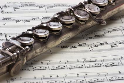 Instrument de musique flûte traversière